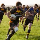 Joe Block scored a dramatic late try for Southwold at Thetford. Picture: Linda Cayley