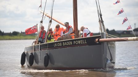 The King's Lynn Worfolk Boat Trust was a beneficiary of the �rsted community fund. The Baden Powell