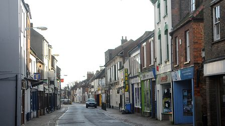Norfolk Street, in King's Lynn, which could also be revamped. Picture: Chris Bishop