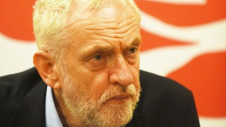 Jeremy Corbyn, Leader of the Labour party. Picture: Ian Burt