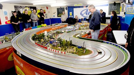 Presto Park Slot Car Club, host a race meeting for enthusiasts from all over the country.Picture: N