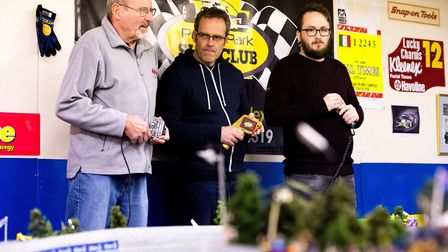 Presto Park Slot Car Club, host a race meeting for enthusiasts from all over the country.Graham Lan