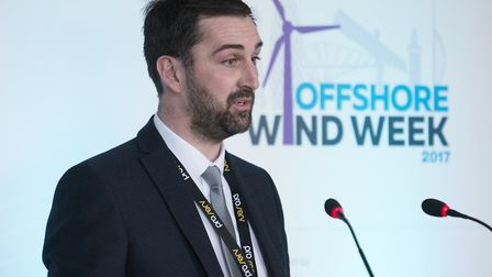 Richard Goffin, port director for Peel Ports Great Yarmouth, announced plans to develop a further pa