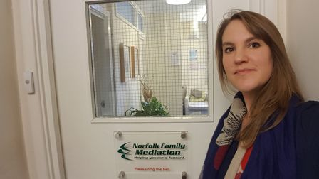 Gemma Walpole, the new chief executive at the Norfolk Family Mediation Service. Picture: Norfolk Fam