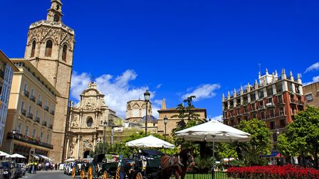 Plaza de la Reina in Valencia with it's Miguelete gothic cathedral. Picture: Getty Images/istockphot