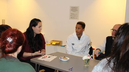 A group of 30 young people led a day of workshops and discussions for Norfolk County Council staff o