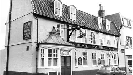 The Nag's Head, King Street , Norwich, November 1980. Picture: Archant