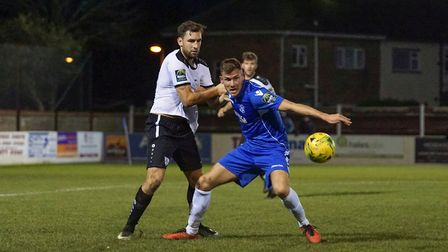 Lowestoft Town's Shaun Bammant. Picture: Shirley D Whitlow