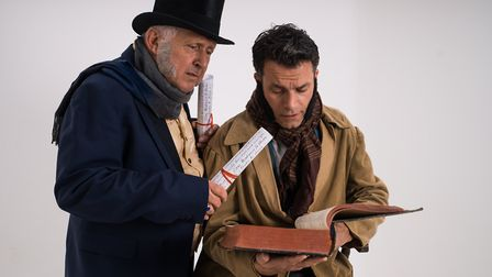 A Christmas Carol The Musical by Planet Theatre Productions. Photo: Richard Jarmy Photography