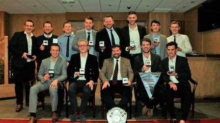 Alliance annual dinner - Division One winners Stow. Picture: Cecil Amey Opticians