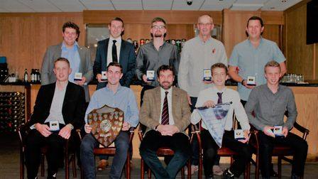 Alliance annual dinner - Division Two winners Topcroft. Picture: Cecil Amey Opticians