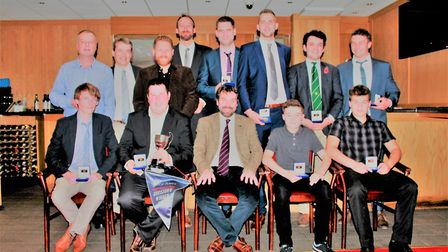 Alliance annual dinner - Division Six winners Horsford. Picture: Cecil Amey Opticians