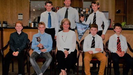 Alliance annual dinner - under 13 winners Brooke. Picture: Cecil Amey Opticians