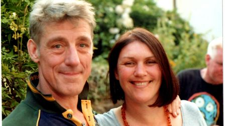 Liam Heitman-Rice's mother and stepfather Claire and Jonas. Picture: LIAM HEITMAN-RICE.