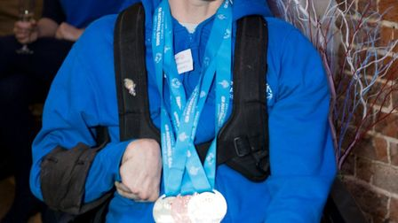 Kevin Threadgold who struck gold for Norfolk at the National Games. Picture: Michael Lyons