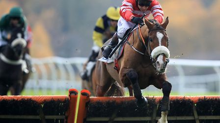 Richard Johnson heads to Fakenham after riding High Expectations to victory at Leicester. Picture: P