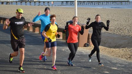 Action from the Lowestoft parkrun at the weekend. Picture: Gary Pembroke