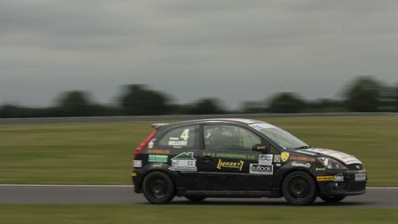 James Hillery competing at Snetterton earlier in the season. Picture: Ellen Tunstall.