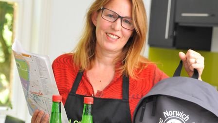 Norfolk chef and cookery teacher Zena Leech-Calton, who will host the Seafish cookery class. PHOTO B