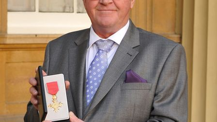 Norfolk Wildlife Trust chief executive Brendan Joyce has received an OBE for services to nature cons