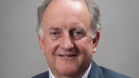Stuart Clancy, Vice-Chairman of Norfolk County Council''s Environment, Development and Transport Com