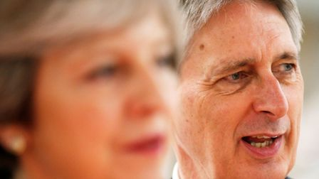 Prime minister Theresa May and chancellor Philip Hammond. Picture: Andrew Yates/PA Wire