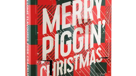 Merry Piggin' Christmas Advent Calendar from The Snaffling Pig co. Picture: Daniel Jarvis/The Snaffl