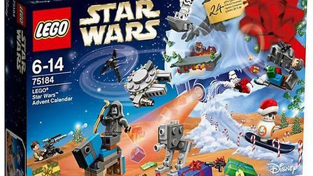 Lego Star Wars advent calendar. Picture: Roys of Wroxham