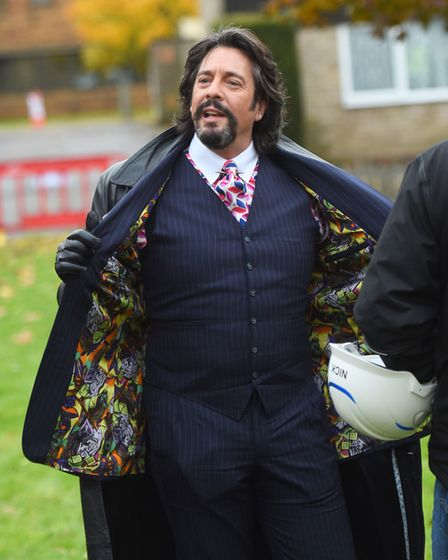 Laurence Llewelyn-Bowen. Picture: GREGG BROWN