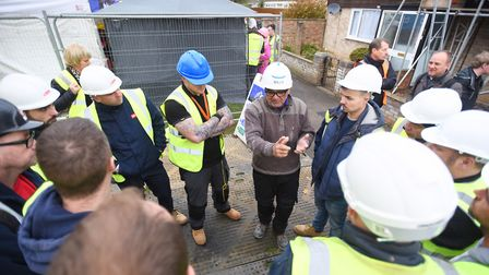The show put out an appeal earlier this year for trademen to get involved in the project. Picture: G