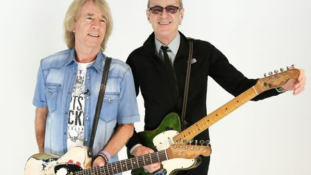 Rick Parfitt and Francis Rossi were bandmates in Status Quo for almost 50 years, until Rick's death