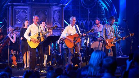 Francis Rossi will bring Status Quo to the UEA in Norwich on November 16 for an acoustic gig. Pictu