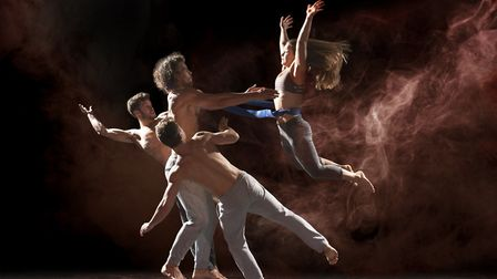 NNF18 - Barely Methodical Troupe's Shift will be the headline show in the Adnams Spiegeltent. Photo