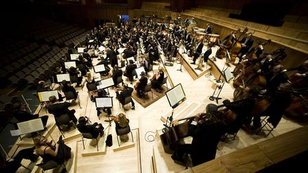 NNF18 - The London Philharrmonic Orchestra will perform at St Andrew's Hall in Norwich. Photo: Rich