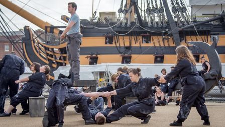 NNF18 - Stopgap Dance Company will present The Seafarers in Great Yarmouth. Photo: Strong Island Me
