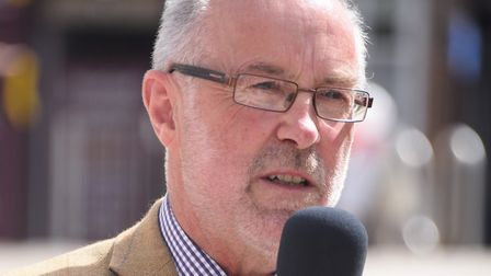 Martin Wilby, chairman of Norfolk County Councils environment, development and transport committee.