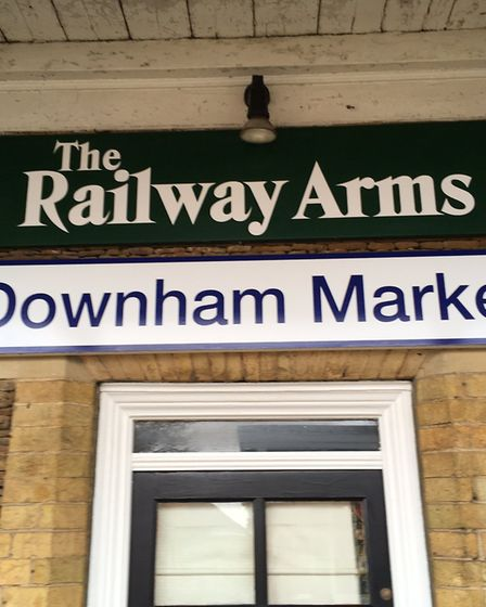 The Railway Arms, Downham Market has closed: Pictures David Bale