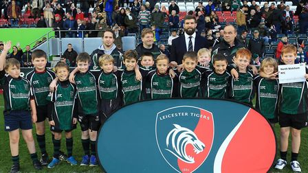 North Walsham U10s took part in the Prima Cup at Welford Road, the home of Leicester Tigers. Picture