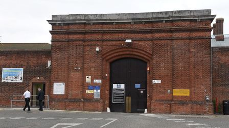 The inmate allegedly attacked the officers at Norwich prison. Photo: Steve Adams