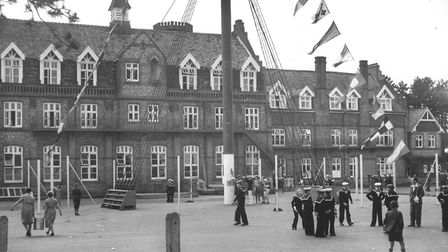 The now-vanished Watts Naval School at North Elmham.Picture: Archant library