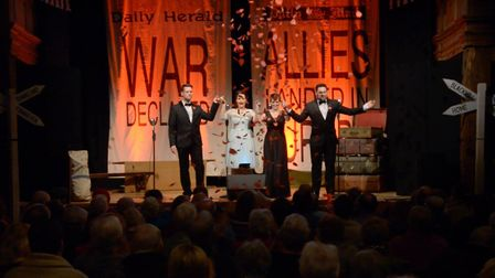 A previous Remembrance show. Picture: St George's Theatre