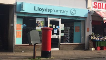 Lloyds Pharmacy in Gorleston. Picture: Anthony Carroll.