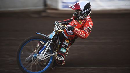 Jason Doyle, seen here riding for Swindon Robins against King's Lynn Stars, was crowned World Speedw