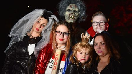 The Spooky City Halloween parade. Byline: Sonya Duncan Copyright: Archant 2016