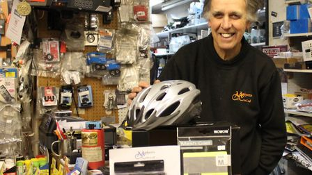 Mick Madgett, of Madgett's Cycles in Diss. Picture: DISS CYCLATHON