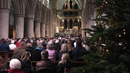 The UEA Choir is joining forces with the UEA Chamber Choir and Community Choir for a celebratory Chr
