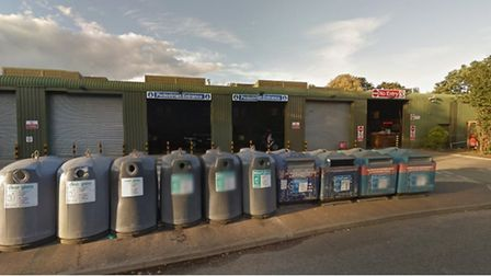 Mile Cross Recycling Centre. Photo: Google Maps