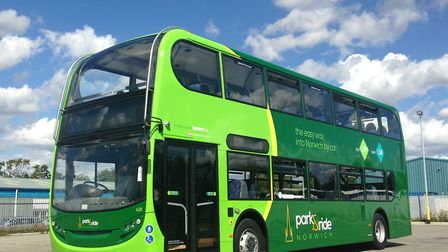 One of the Norwich park and ride buses. Pic: Archant