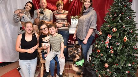 The Old Golfhouse Vets in Watton and Thetford hold a charity pets photoshoot to raise money for the
