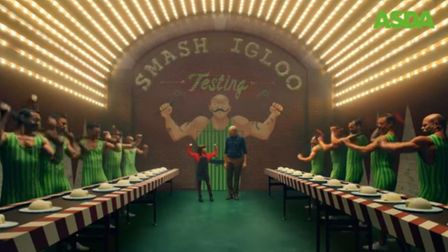 Scene from the 2017 Asda Christmas advert. Picture YouTube/Asda